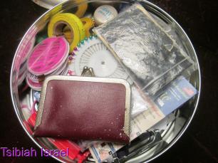 Cookie Tin Sewing Kit