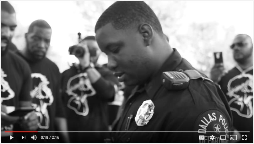 Black Christ Matters Video Shoot