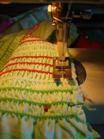 Tsibiah's Sewing School - Thread 101 - Elastic Thread Shirring
