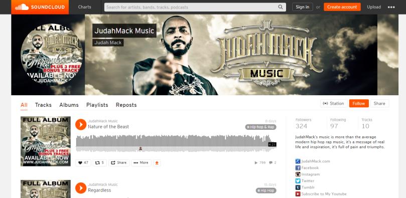 Judah Mack Music Throwbacks